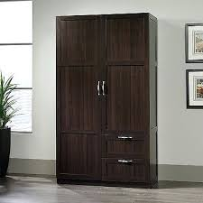 unfinished wood storage cabinets. wood closet armoire storage cabinets with drawers doors wardrobe clothing cherry solid unfinished s