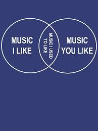 Music You Like Music I Like Venn Diagram Music You Like Music I Like Music I Used To Like Venn Diagram Pullover Hoodie