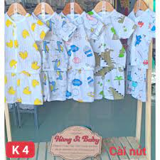 Giá bán Combo 5 bộ cotton giấy Ngắn bé trai sơ sinh tới 14 cân