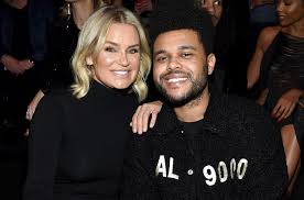 on the scene at victoria s secret fashion show 2018 halsey s near wipeout the weeknd s chats with yolanda hadid more