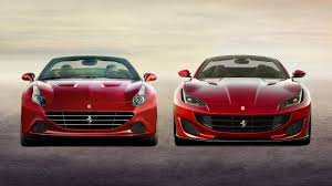 2018 ferrari california. perfect 2018 2018 ferrari portofino vs 2017 california t throughout ferrari california