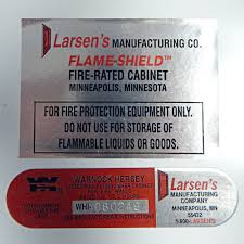 Fire Equipment Cabinet Larsen Flame Shield Fire Rated Cabinet Extinguisher Glass Panel
