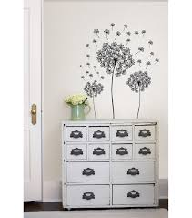 wall pops dandelion wall art decal kit 29 piece set