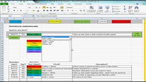to do lists excel excel spreadsheet providing list of reminders future tasks to do