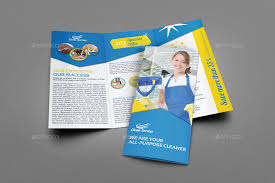 Cleaning Brochure Cleaning Services Brochure Bundle Template