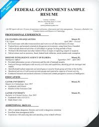 Resume Headers Gorgeous Federal Government Resume Format Creating Headers For Federal Resume