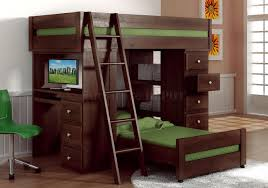 gallery of full loft bed with desk ikea