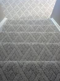 Berber carpet Cincinnati Ohio installed on steps and basement