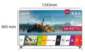 Physical Features. LG smart TV 60 Inch UHD Smart - 60UJ651V   Souq UAE
