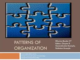 Pattern Of Organization Adorable Patterns Of Organization DefinitionExample AuthorSTREAM