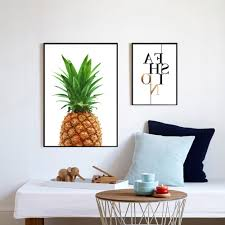 well known pineapple print fabric pineapple wall art pineapple poster in large print fabric on large print fabric wall art with showing gallery of large print fabric wall art view 14 of 15 photos