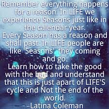 Seasons Of Life Quotes