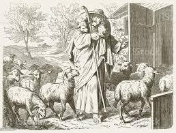 The Good Shepherd Stock Vektor Art und mehr Bilder von Schäfer - iStock