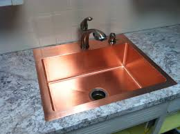 custom kitchen sinks custom stainless steel countertops with sinks drop in copper design