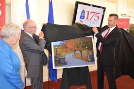 acadia celebrates 175th anniversary acadia university dr james r c perkin university drive will be re d perkin way dr perkin acadia s 12th president was the first acadia president to rise