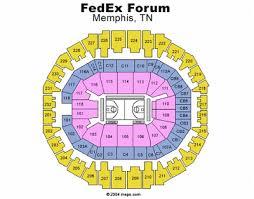 Fedex Forum Memphis Tn Seating Chart Memphis Tigers Mens Basketball I Got My Tickets Section