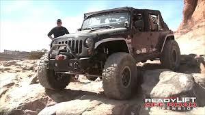 jeep wrangler lift kit revolutionized by readylift max flex stillen garage