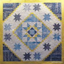 Three Blue, Yellow and White Quilts &  Adamdwight.com