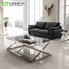 china black painted tempered glass