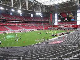 view seating charts arizona cardinals at state farm stadium section 115 view
