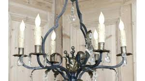 wrought iron crystal chandelier incredible iron and crystal intended for awesome house iron and crystal chandelier remodel