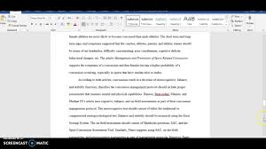 Example Paper Comments Synthesis Paper Apa Format