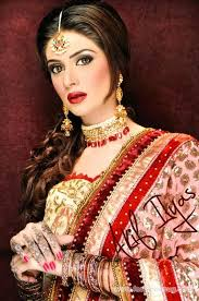 latest bridal makeup look by akif ilyas 2016
