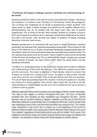 tom brennan essay year hsc english standard thinkswap tom brennan essay