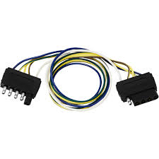 double ended 5 way flat extension harness