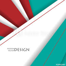 Bright Material Design Corporate Vector Backdrop Vertical Elements