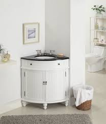 Bathroom Corner Cabinets Bathroom Corner Cabinet Gray Stained Wooden Small Vanity Wall