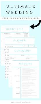 Ultimate Wedding Checklist Budget Spreadsheet Excel Decor Planning