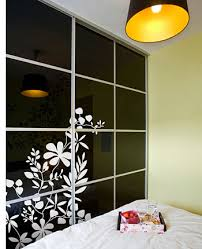 how to decorate wardrobe doors with
