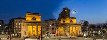 outdoor lighting in milan italy with italo the luminaire for a safer and efficient aec eco lighting