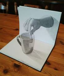 3d drawing just wow and it s only with a pencil and
