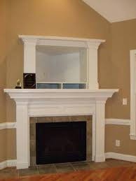 how to build a corner fireplace mantel and surround surrounds mantles custom built in entertainment center