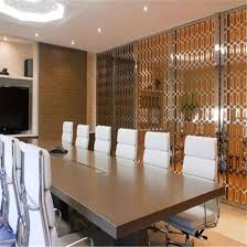 restaurant room divider metal screen decorative partitions wall panels