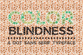 The online color blind test is developed to measure whether a person is color blind or not. Color Blindness Test Typeface By Becris Thehungryjpeg Com