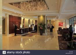 Lobby reception area of Shangri -La Hotel Sydney, Sydney Australia