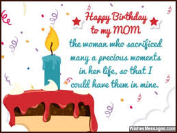 Birthday Quotes For Mom New Birthday Wishes For Mom Quotes And Messages WishesMessages