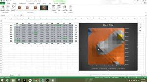 2 How To Make A More Complicated Contour Map In Excel