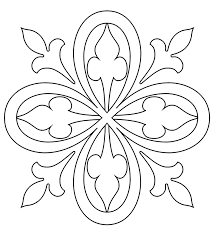 Small Picture Medieval Coloring Page Medieval Pattern 7