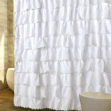 white ruffle shower curtain. White Ruffle Shower Curtain Large Size Of Garden Buzz Pink Anthropologie