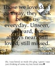 Inspirational Quotes For Lost Loved Ones