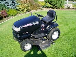 lawn tractor 25 hp big 54 cutting deck