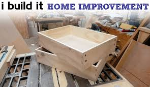 Beautiful How To Make Drawers The Easy Way   Kitchen Cabinet Build   YouTube Ideas