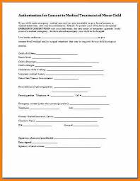 6+ For Child Medical Authorization Form | Mael Modern Decor