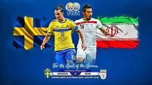نتیجه تصویری برای سوئد ۳-۱ ایران