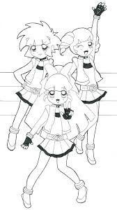 Powerpuff Girls Coloring Sheets Z4928 Girls Z Coloring Pages Girls