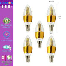 5 Bóng đèn Led nến 5w quả nhót đuôi E14 Posson LCP-5E14x - P677725 | Sàn  thương mại điện tử của khách hàng Viettelpost